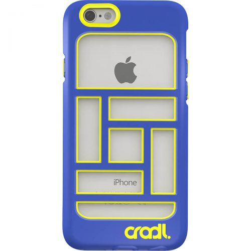 Blocks iPhone 6 case cobalt-lightning back (cropped)